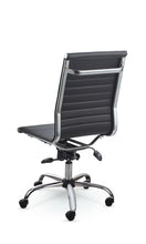 Winport High-Back Executive Armless Leather Swivel Office & Home Desk Chair SW-7910K