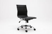 Winport Ergonomic Mid-Back Leather Armless Desk Office Conference Chair TB-4444