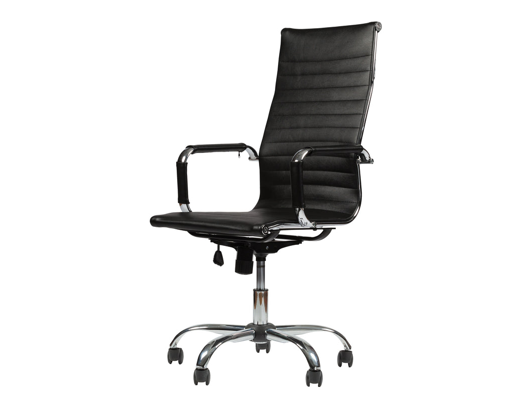 Winport High-Back Leather Executive Office & Home Desk Chair TB-5050L