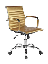 Winport Mid-Back Leather Executive Office Desk Chair TB-5051L