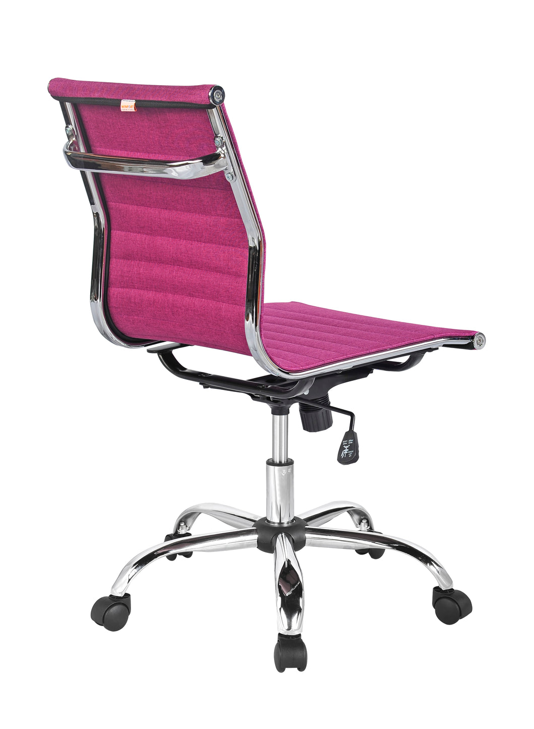 Magnificent Winport Mid Back Fabric Armless Office Desk Chair Tb 5052F Cjindustries Chair Design For Home Cjindustriesco