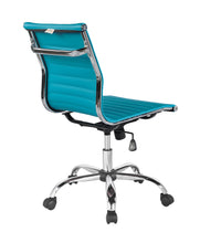 Winport Mid-Back Leather Armless Office Desk Chair TB-5052L