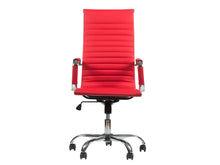 Winport High-Back PU-Leather Swivel Office & Computer Desk Chair TB-8111