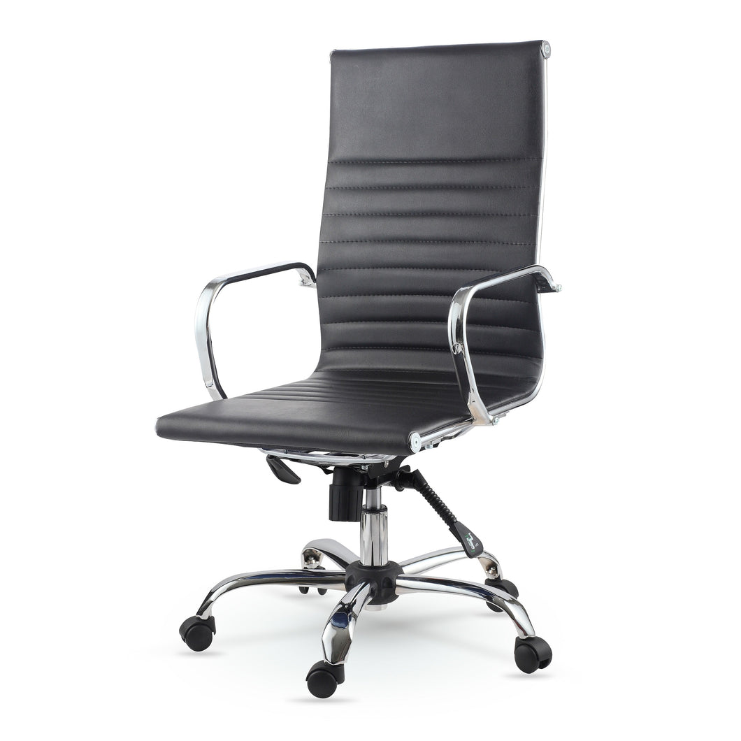 Winport High-Back Leather Executive Swivel Office &Home Desk Chair SW-7911K