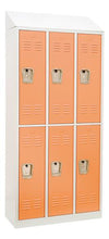 Winport Morgan 3-Wide Double Tier Locker