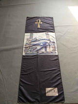 Eye of Horus Yoga Towel - Lisa Brown's Treasure & Gifts