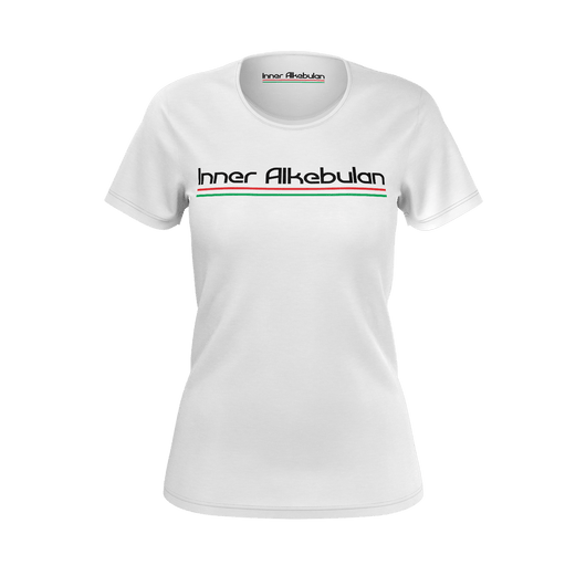 Ladies Inner Alkebulan™ Solid White T-Shirt