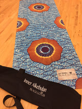Blue Wax Cloth 1.5mm Natural Rubber Yoga Mat - Lisa Brown's Treasure & Gifts