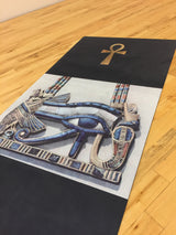 Eye of Horus 1.5mm Natural Rubber Yoga Mat - Lisa Brown's Treasure & Gifts