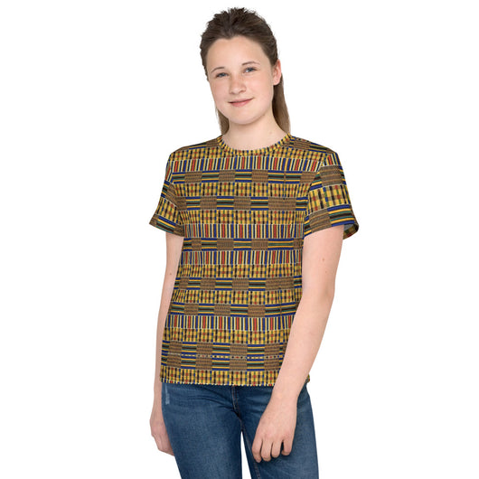 Inner Alkebulan™ Kente Cloth Youth T-Shirt
