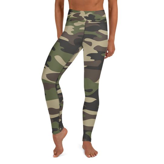 Inner Alkebulan™ Camouflage Yoga Leggings