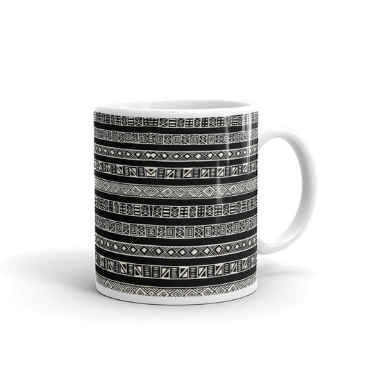 Graphic Tribal Print  Mug