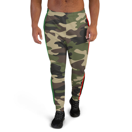 Inner Alkebulan™ RBG Striped Camouflage Men's Joggers