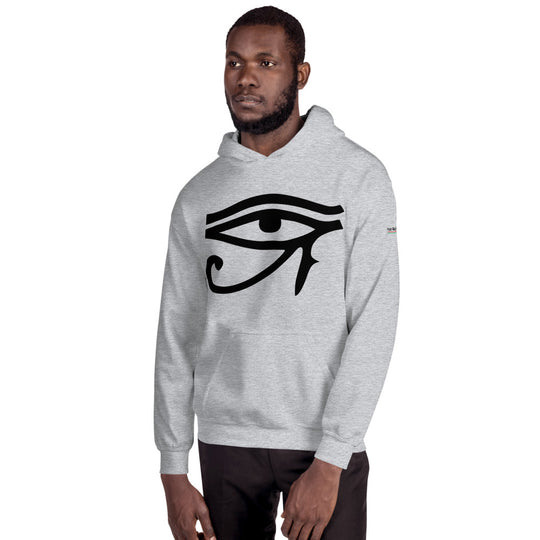 Inner Alkebulan™ Men's Eye of Horus/Orishas Hoodie