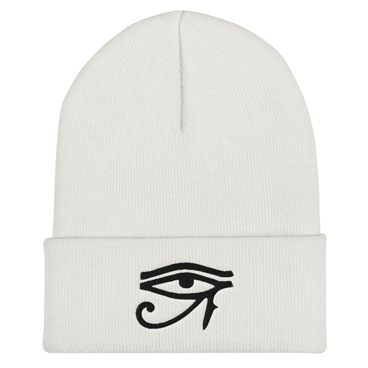 Inner Alkebulan™ Eye of Horus Cuffed Beanie
