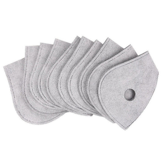 5 Pcs Activated Carbon Face Mask Filters     IN STOCK!!