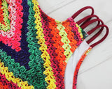 One-Piece, Knit Swimsuit - Lisa Brown's Treasure & Gifts