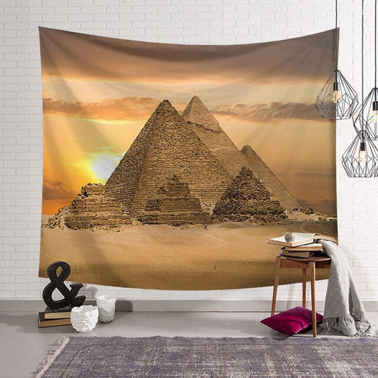 Egyptian Pyramid Wall Hanging Tapestry