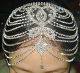 Crystal Rhinestone Headpiece Jewelry