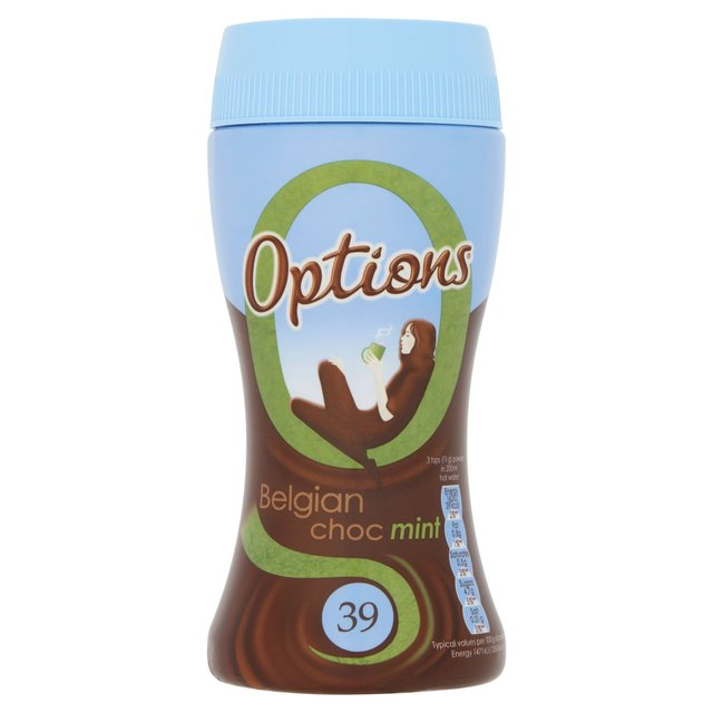 Options Belgian Choc Mint 220g
