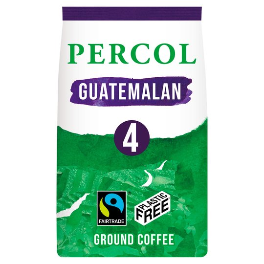 Percol Fair Trade Guatemalan Ground Coffee 200G