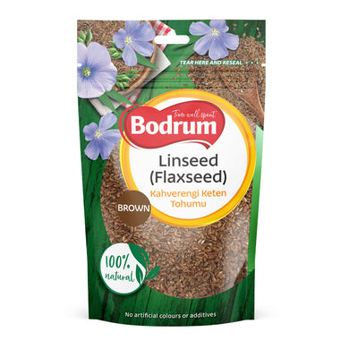 Bodrum Brown Linseed or Flaxseed