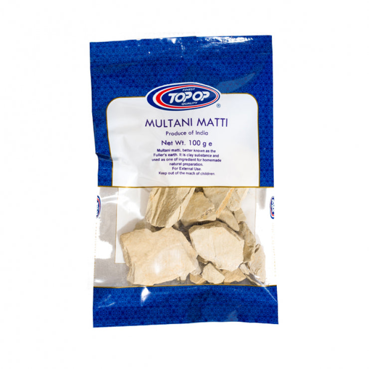 Top-Op Multani Matti Natural Cleanser for Your Skin  Multani mitti Stone