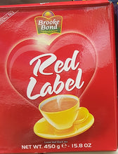BROOKE BOND - RED LABEL - LOOSE LEAF BLACK TEA 450G