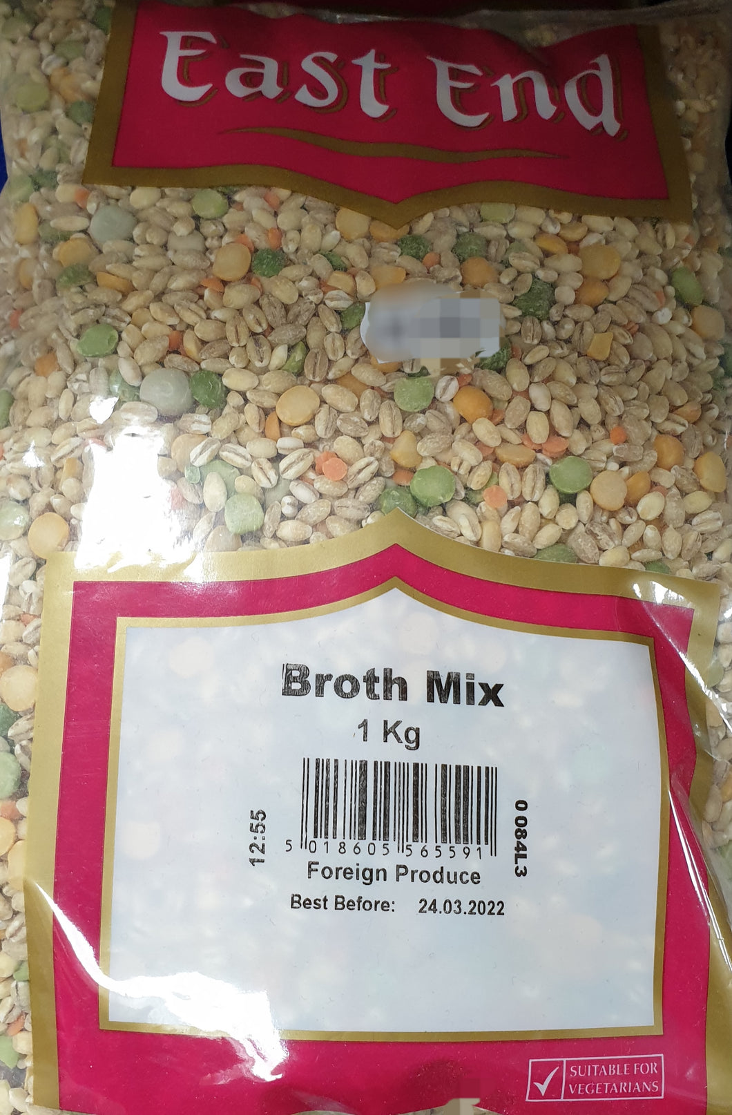 Broth Mix  East End 1kg