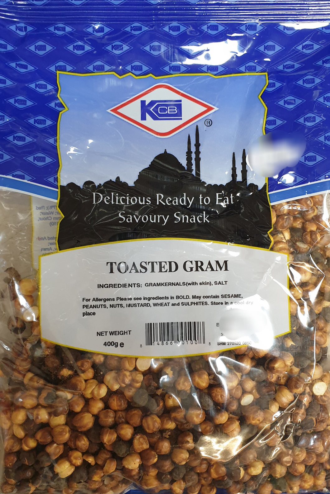 KCB  TOASTED GRAM 400g