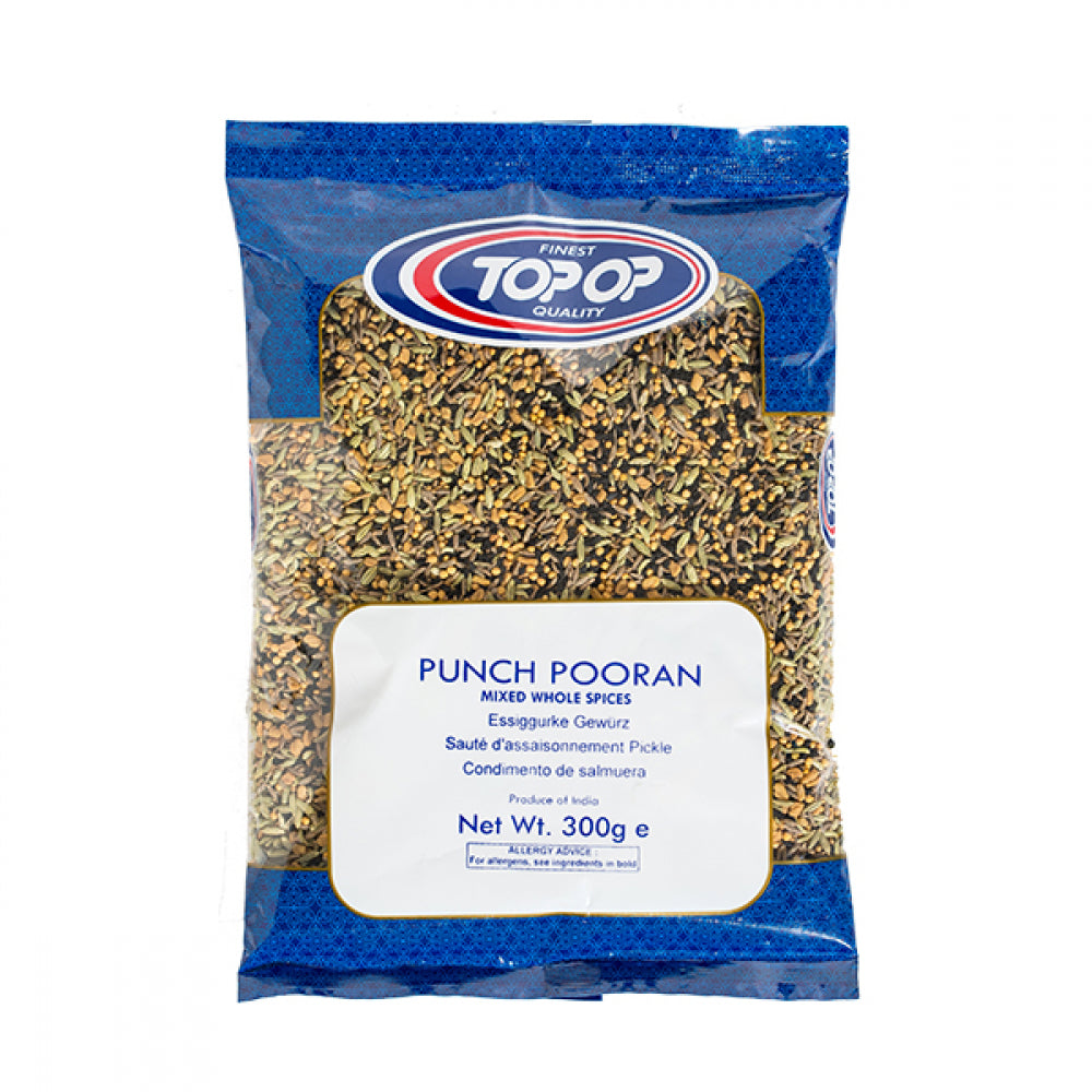 Top-Op Punch Pooran / Whole Mixed Spices 300g