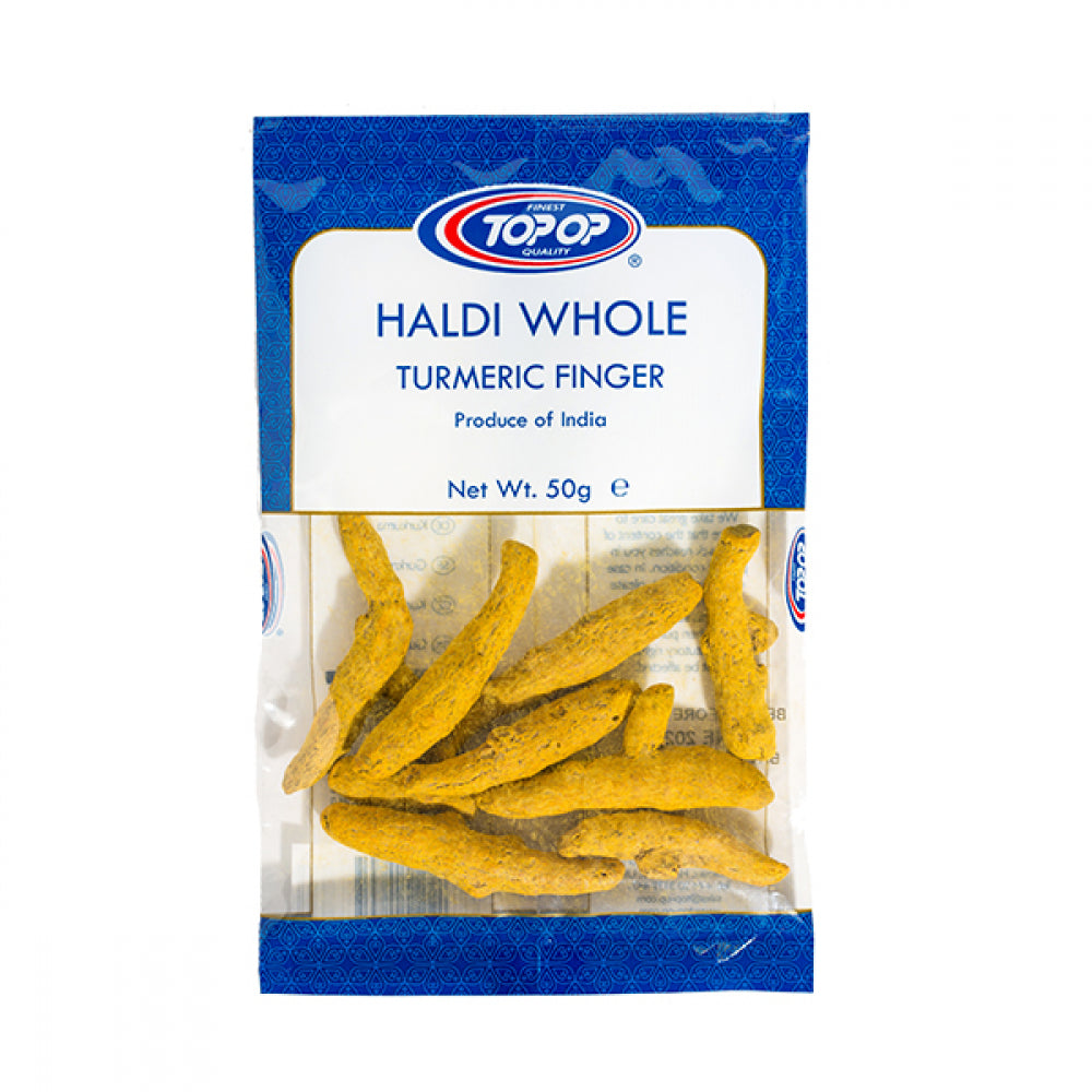 Top-Op Haldi Whole (Turmeric)