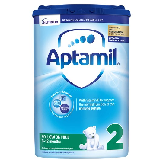 Aptamil 2 Follow On Baby Milk Formula 800g