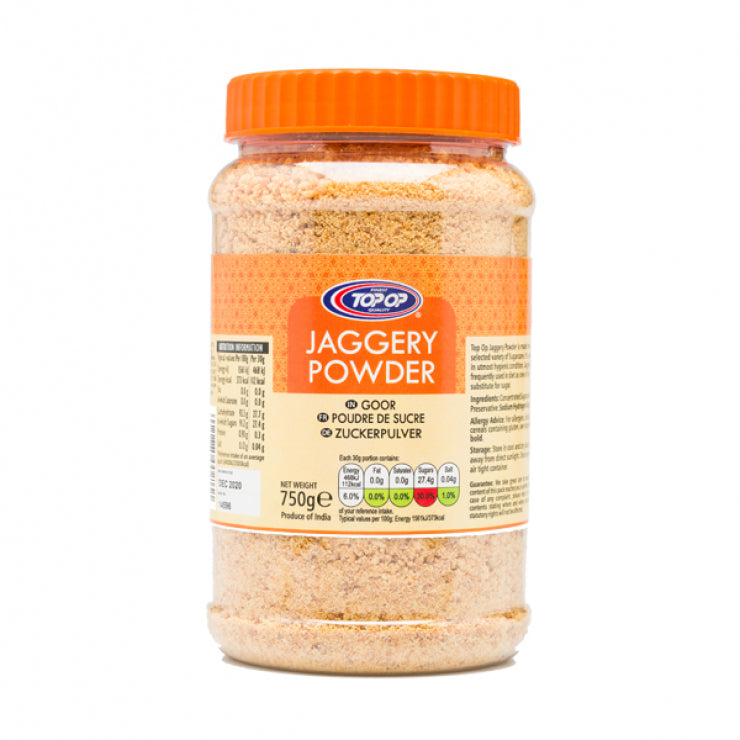 Top op JAGGERY POWDER 750G KOLHAPURI UNREFINED CANE SUGAR( Bheli ) in Jar  (गुड़, कोल्हापुर)