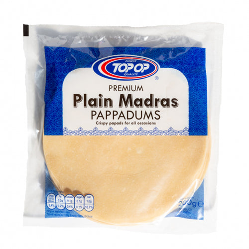 Madras Plain Papad 6