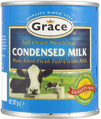 Grace Sweetened Condensed Milk 397g