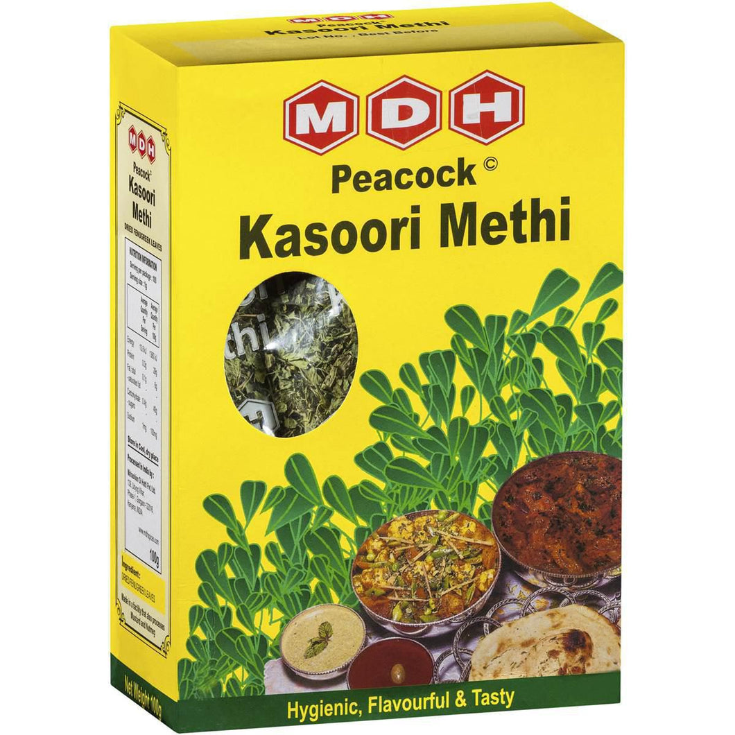 MDH KASOORI METHI Dried Fenugreek Leaves 100g