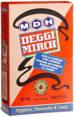 MDH DEGGI MIRCH Chilli Powder 500g Big Pack