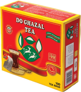 Do Ghazal Red Pure Ceylon Tea - 100 Tagged Tea Bags