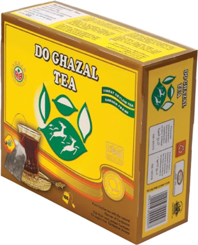 Do Ghazal Cardamom Pure Ceylon Tea - 100 Tagged Tea Bags