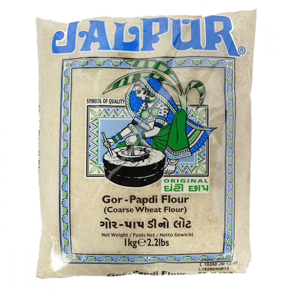 Jalpur Gor Papdi Mix , Coarse Wheat Flour
