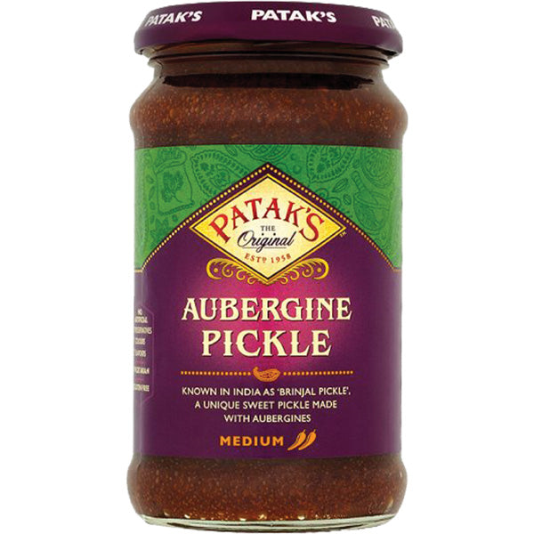 Pataks  Aubergine Pickle  Medium  283g