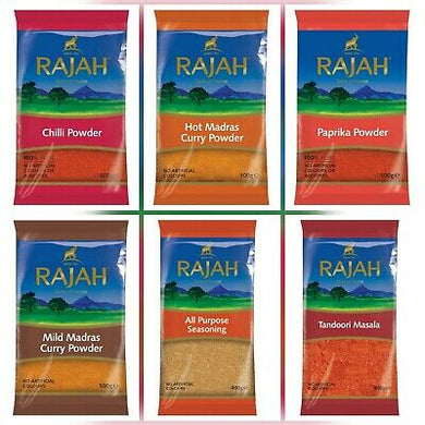 Rajah Spices All Varieties: Select from List