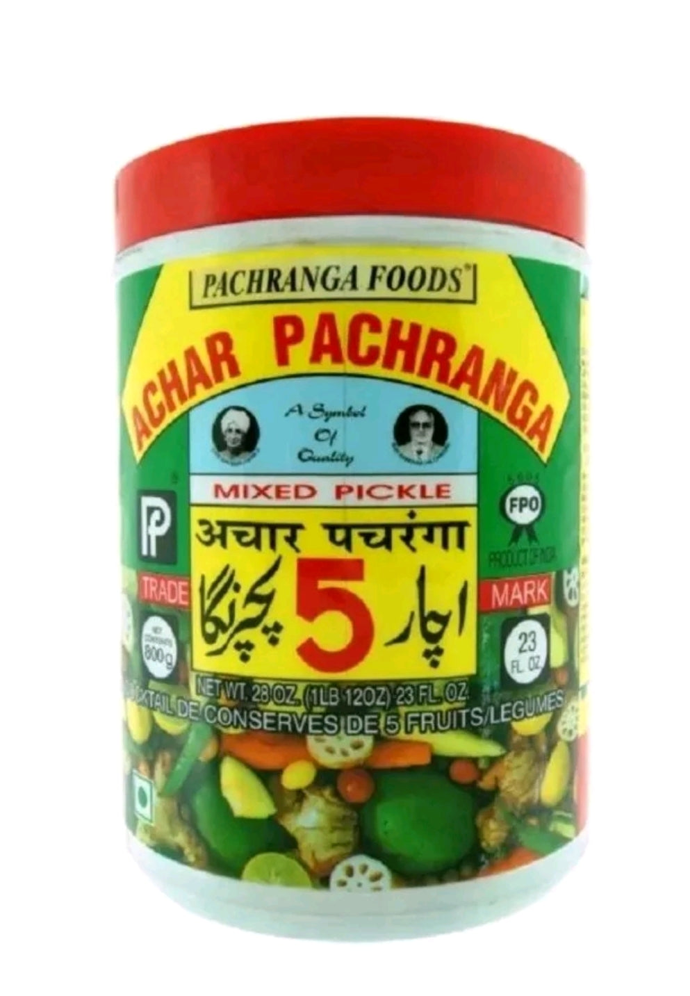 Pachranga Mixed Pickle 800g