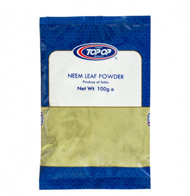 Top op Neem Leaf Powder