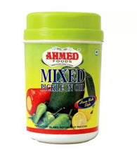Ahmed  Pickles Mango Lime Chilli Mixed Garlic Spicy Asian Pickle Achaar Jar 1 kg