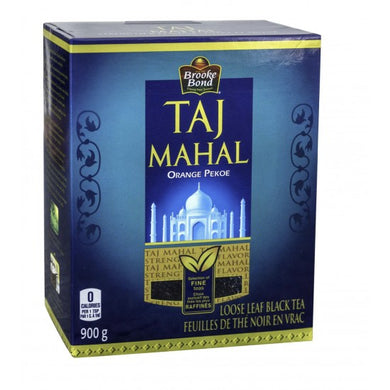 Taj Mahal Tea Indian Brooke Bond  Loose leaf Tea 900g