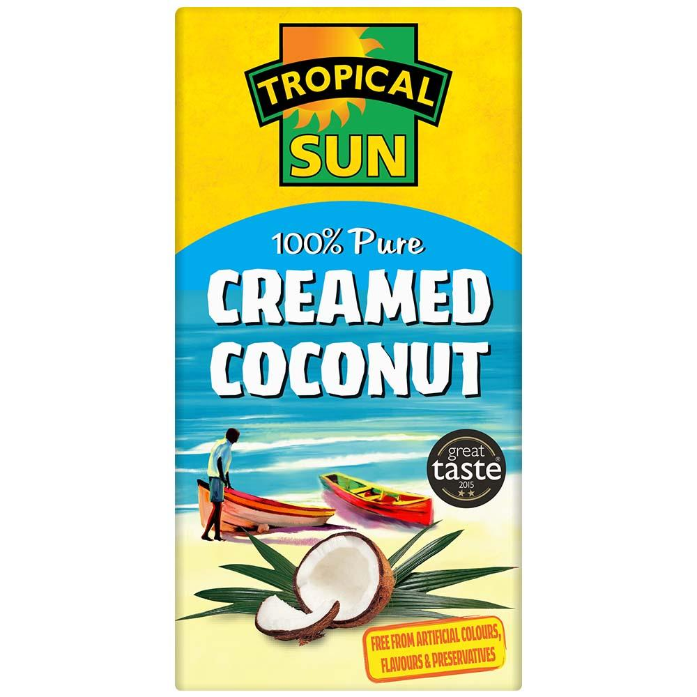 Sun Tropical Creamed Coconut 200g