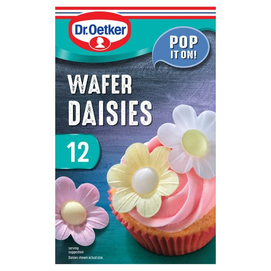 Dr.Oetker Wafer Daisies 10 X 2G 12 Daisies