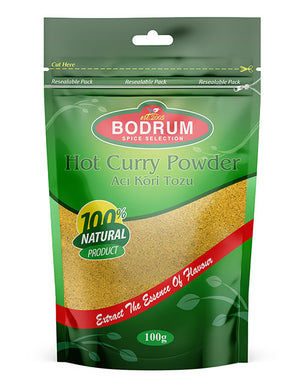 Hot Curry Powder Bodrum 100g